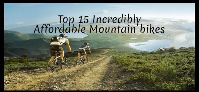 Affordable Mountain bikes