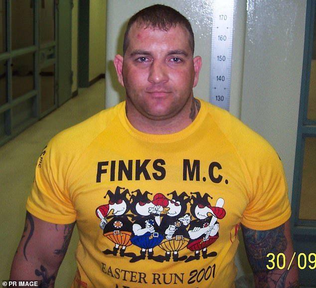 Shane Bowden Mongols Finks