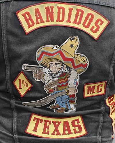Bandidos MC Texas colors