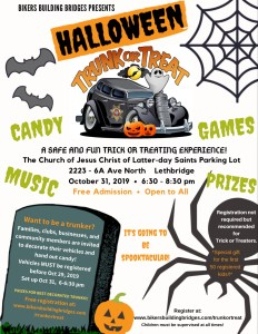 Trunk Or Treat @ Church of Jesus Christ Of Latter-day Saints Parking Lot