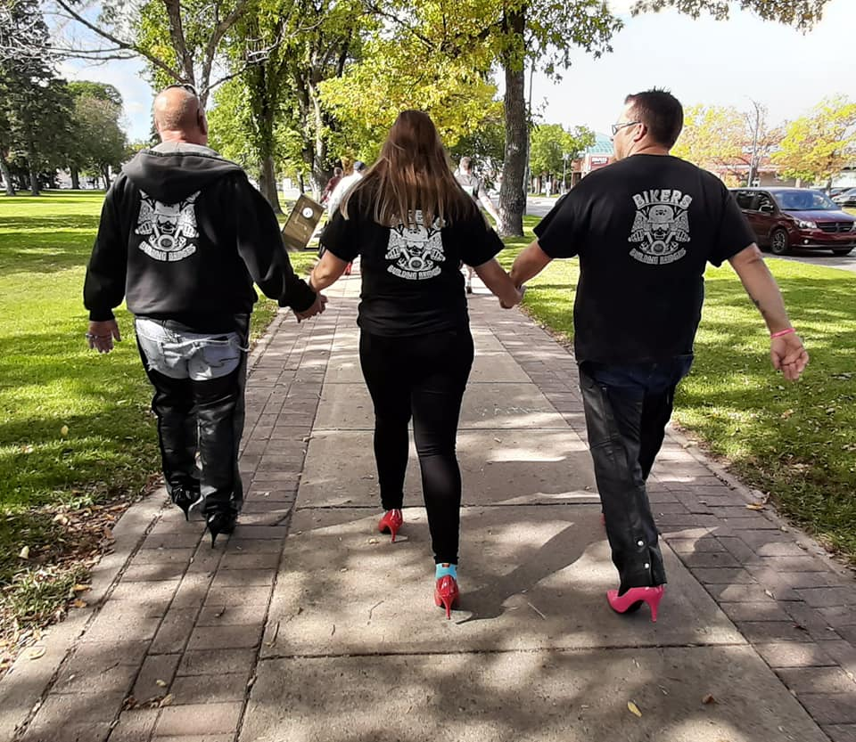 Walk A Mile in her Shoes in support of the YWCA