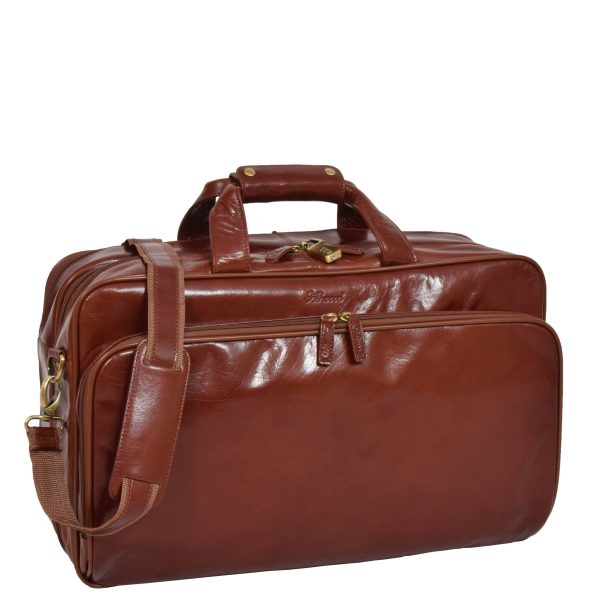 Expandable Holdall with Garment Carrier
