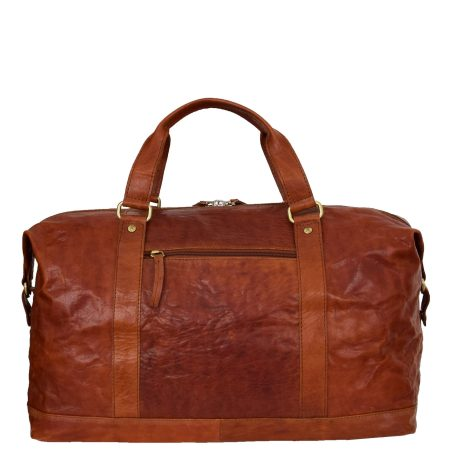 Men's Leather Large Size Holdall