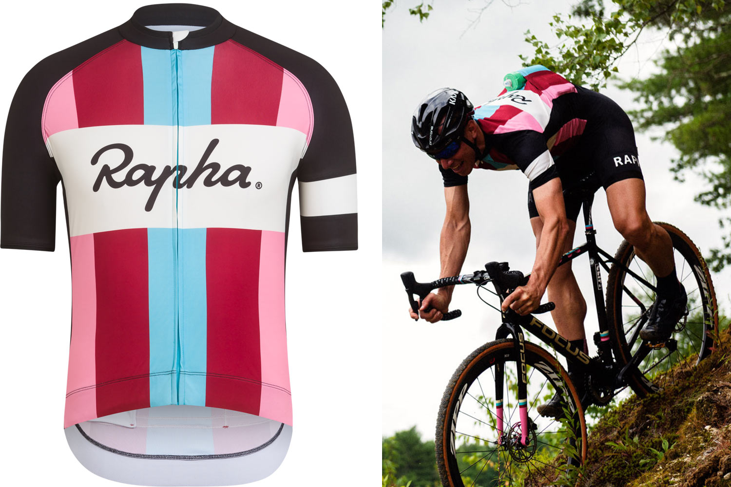 For early season racing you can go with the short sleeve Super Cross Jersey  that gets the same classic Team stripes from Rapha Focus  first cyclocross  team ... 5dcdb25f2