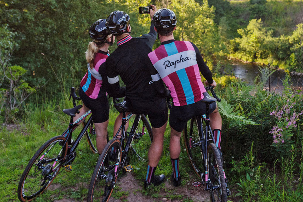 5f06ab5cd The full Rapha Cyclocross kit includes race jerseys in both short   long  sleeves