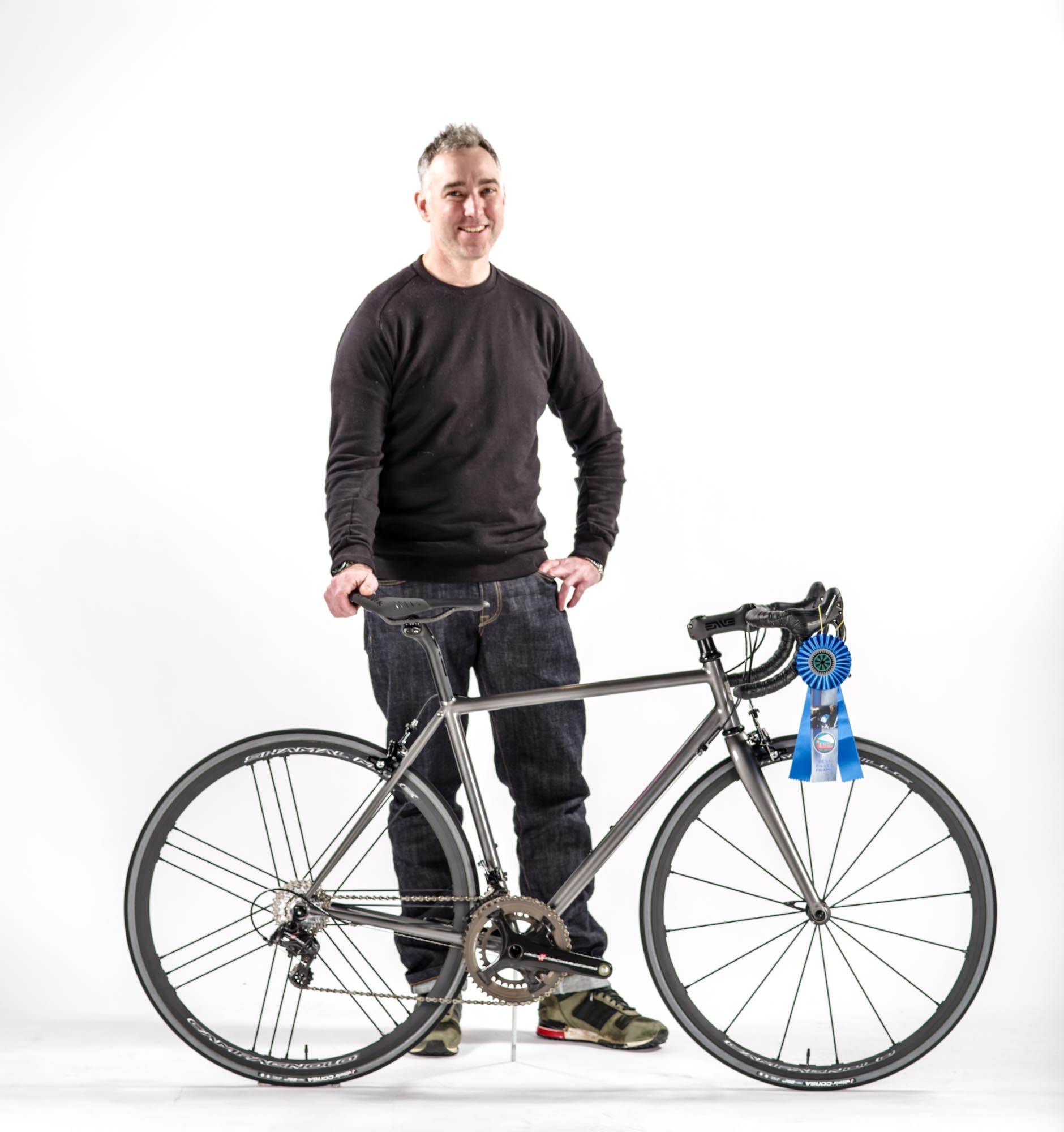 93c12d7eb Best Fillet Brazed Frame. NAHBS 2018 Winner Chris Bishop. Bishop Bikes