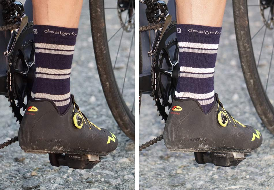 c4b0cd525 pedaled reflective cycling socks review
