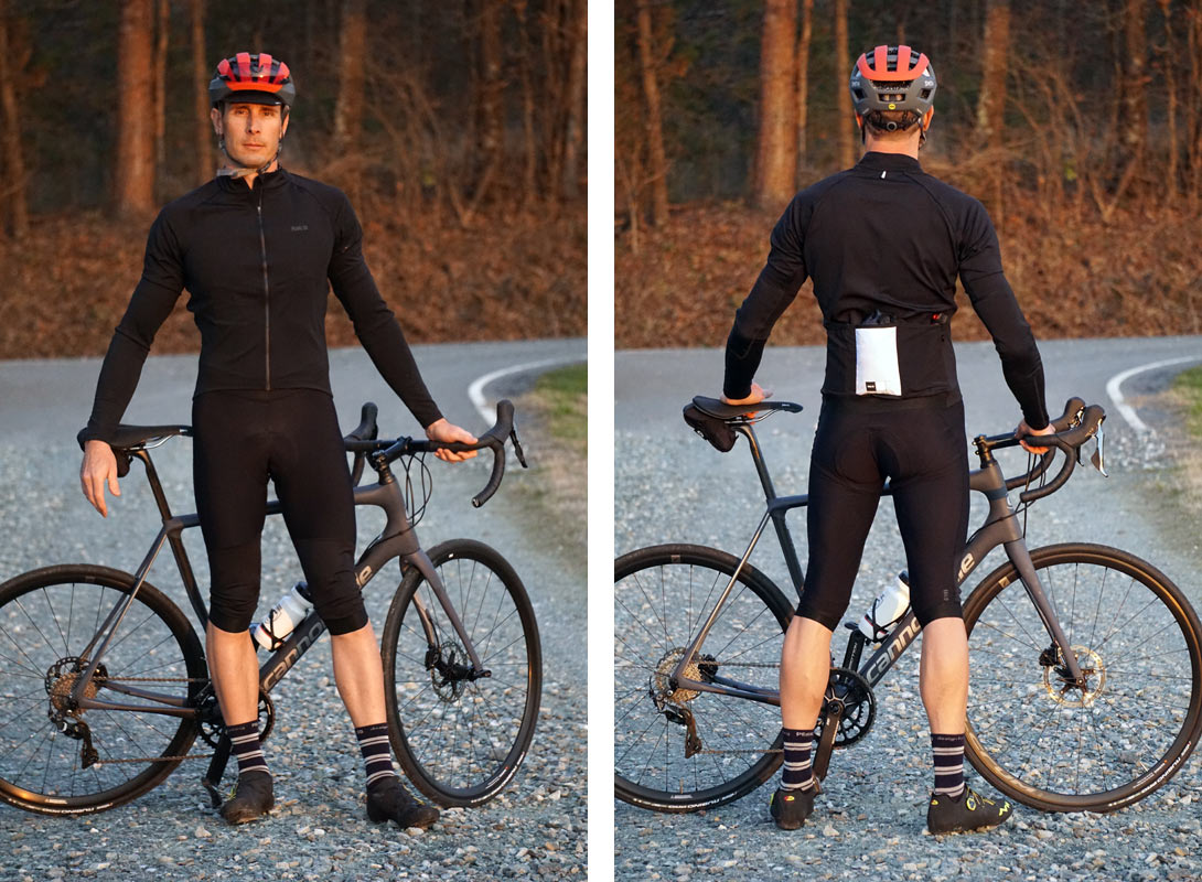 9991b1b77 review of PEdALED windproof and waterproof cycling jersey arm warmers and  bib shorts