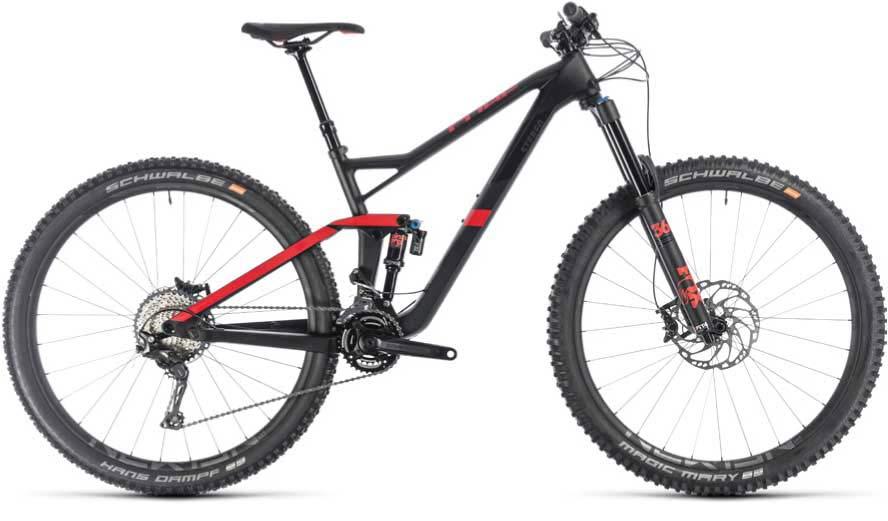 Cube Stereo 150 29 race-ready carbon enduro mountain bike