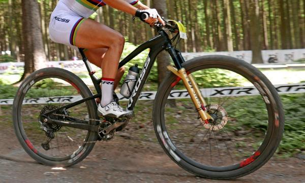 Prototype Kross Earth 100mm Carbon Xc Bike Of World Champ Jolanda Neff Xtr - Bikerumor