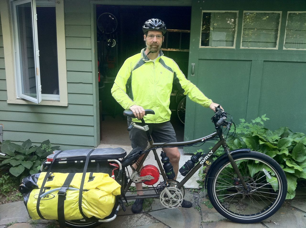 long distance trip on my ebike workhorse bikes as. Black Bedroom Furniture Sets. Home Design Ideas