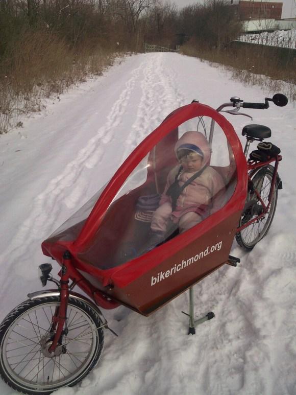 box biking at 10F