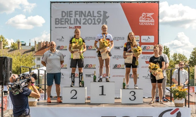 DM Finals Damen Podium