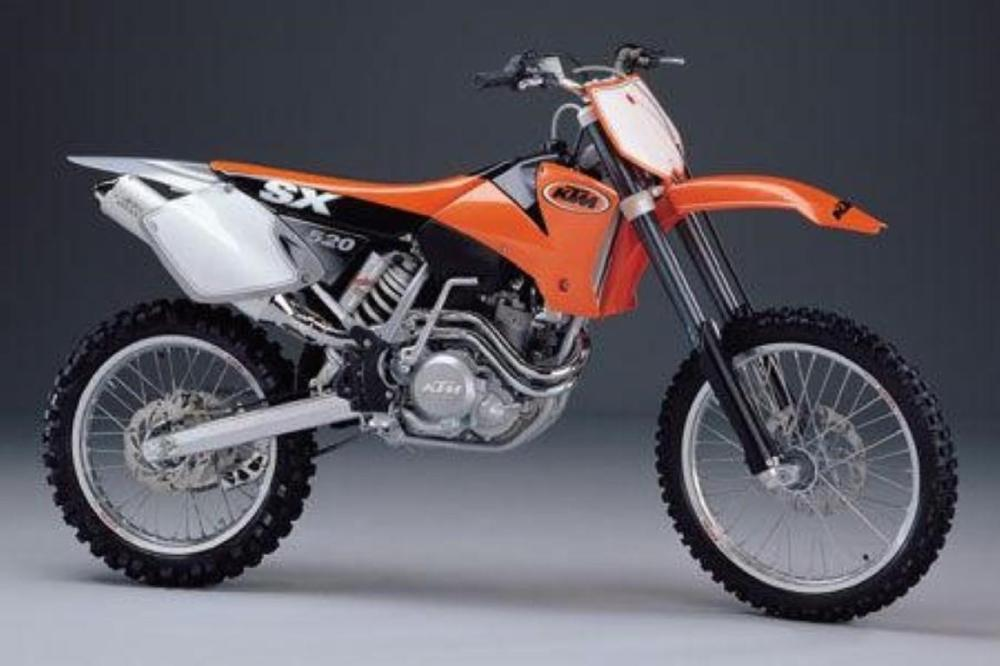medium resolution of ktm 520 sx racing 8