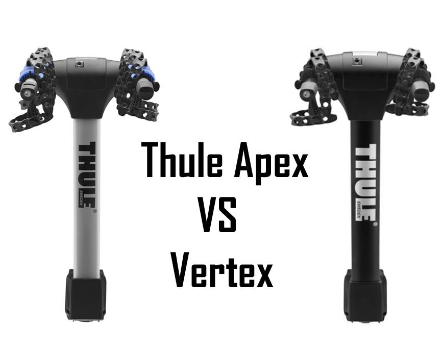 thule apex 5 bike hitch rack