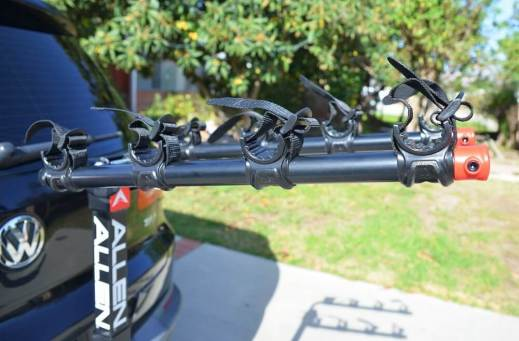 Allen Sports 2-Bike Hitch Racks for 1 14 in and 2 in Hitch