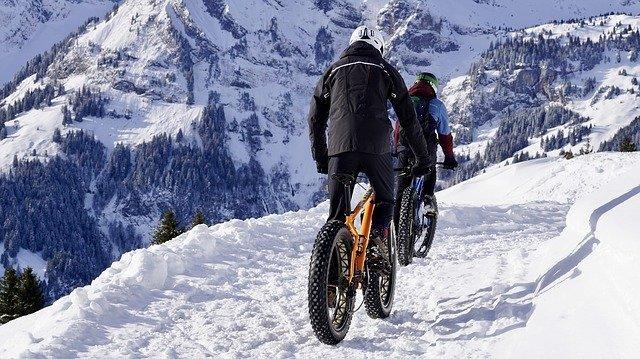 Good Cycling fun in the snow