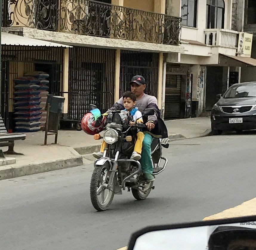 Riding Ecuador