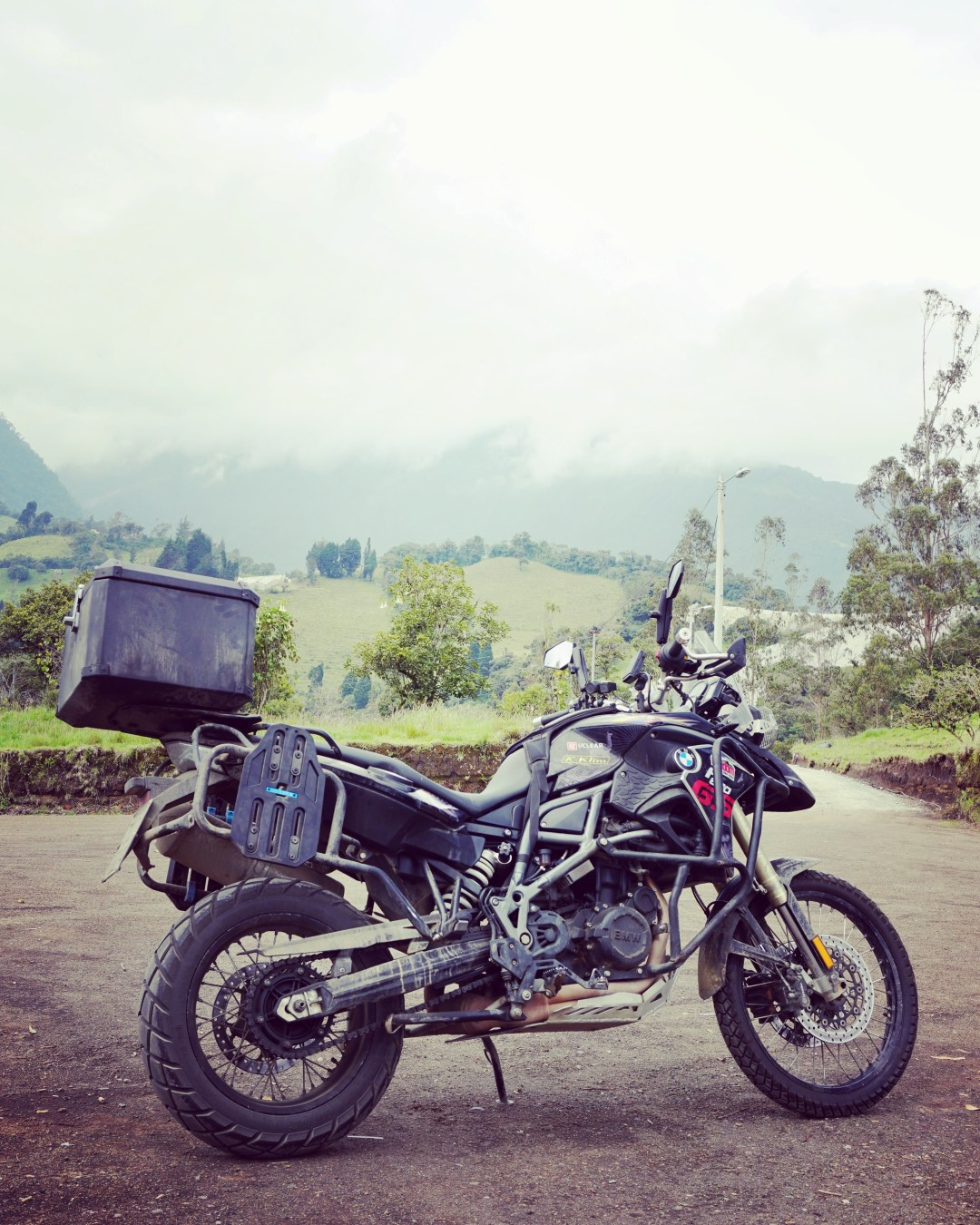 Motorcycle touring, Ecuador