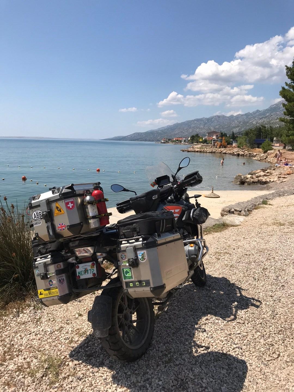 Croatia coast road