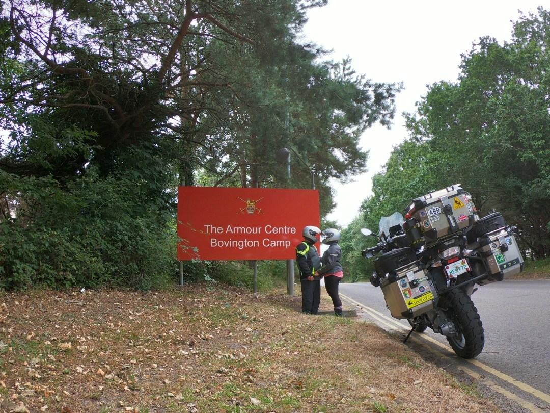Bovington Army Camp