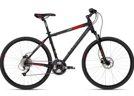CLIFF 90 Black Red 28″