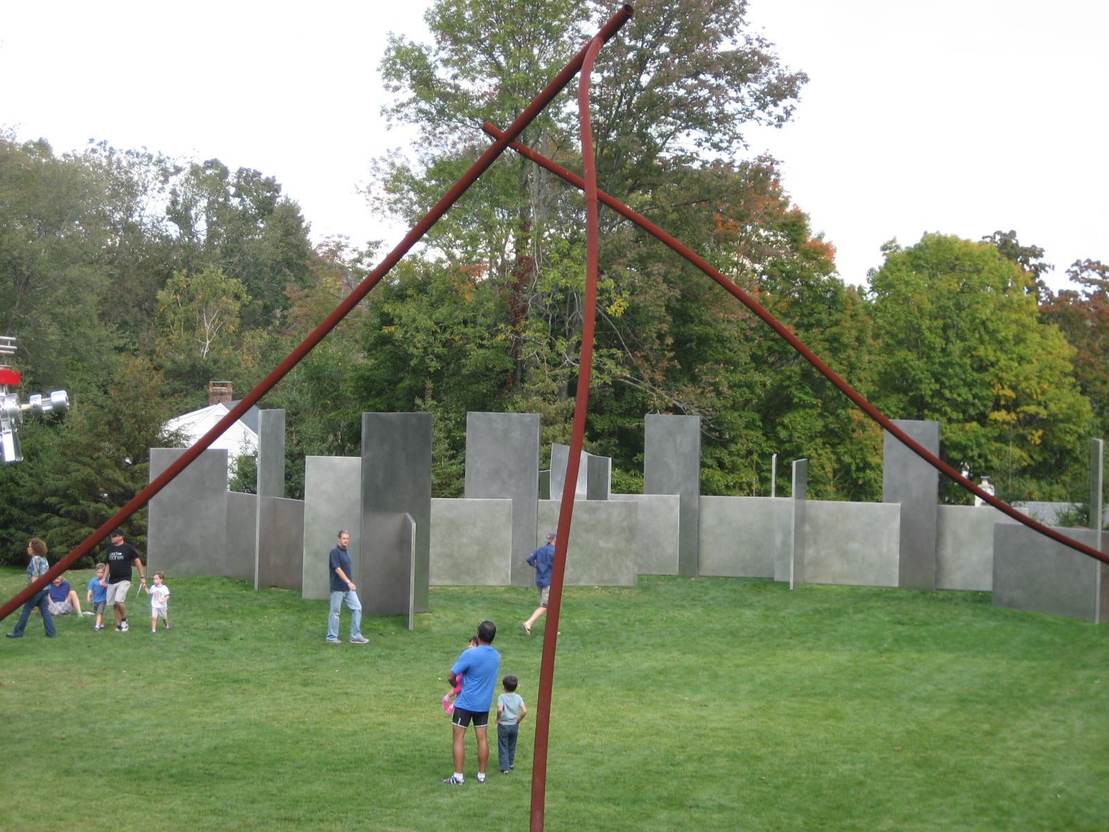 Aldrich sculpture garden