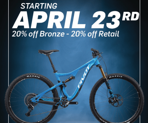 PIVOT 429 TRAIL SALE!!