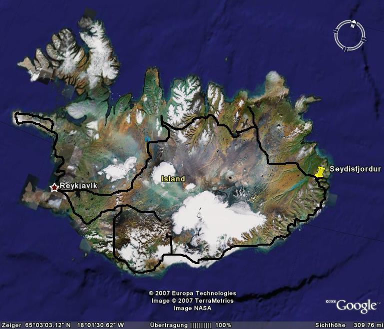 island-google-earth