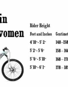 Sizing guide also every single thing you need to know about mountain bikes rh bikesreviewed