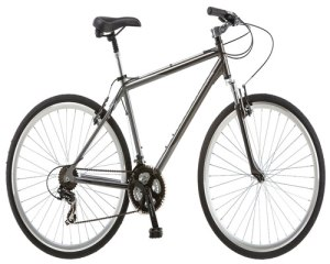Schwinn Capital 700c Men's Hybrid Bicycle, Medium frame size, gray