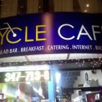 Pedestrian Tourist Impressions of New York Biking