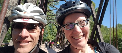 Bike Touring Northwest Washington State: How Our Bike + Ferry + Train Loop Worked Out