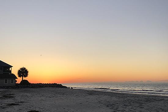 Sunrise-Atlantic Ocean - Beach-StSimonsIsland