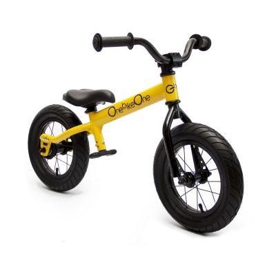 Bicicleta de aprendizaje 'Ludica' color amarillo solar