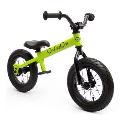 Bicicleta de aprendizaje 'Ludica' color verde alien