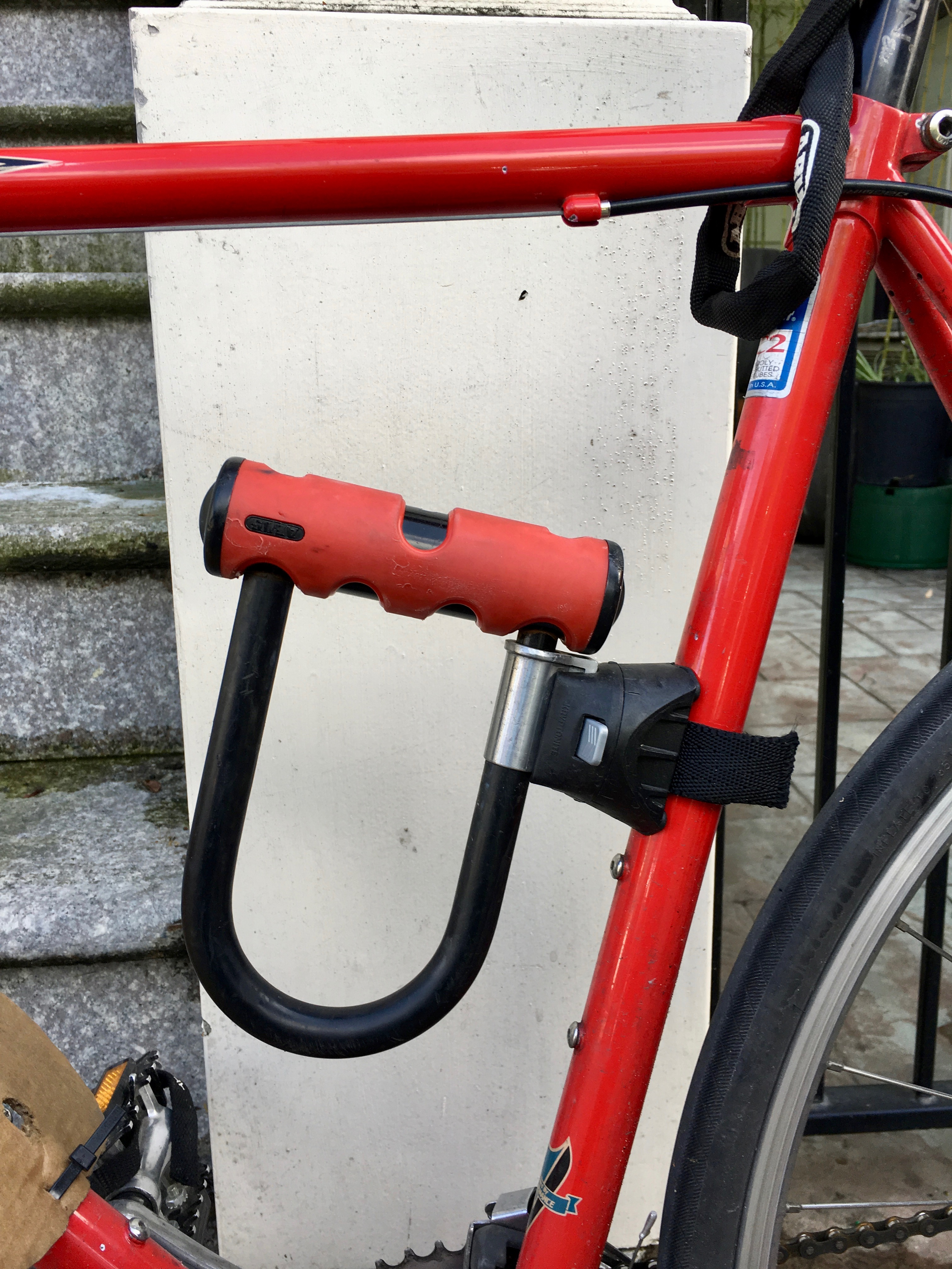 Kryptonite Transit Handlebar U Lock Kit Mount Bracket For Bike Bars Cycle Locks