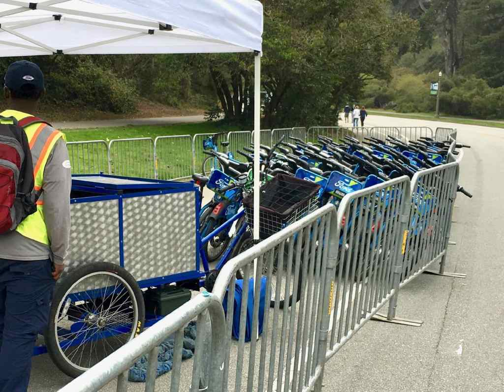 gobike bay wheels bike valet