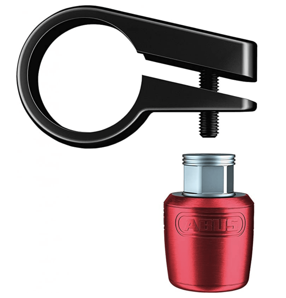abus saddle nutfix seatpost lock