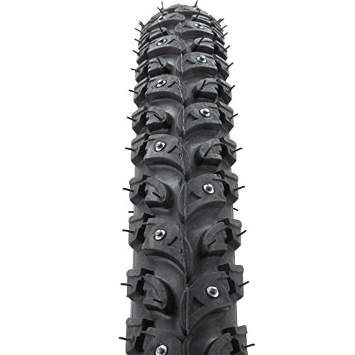 The Nokian W106 studded bike tire.