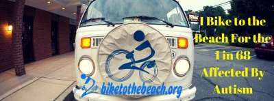 I'm fundraising at Bike to the Beach for the 1 in 68