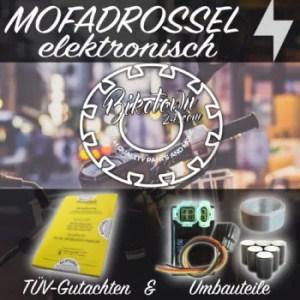 25 Km/h Mofadrosselung elektronisch Rollerdrosselung elektronisch