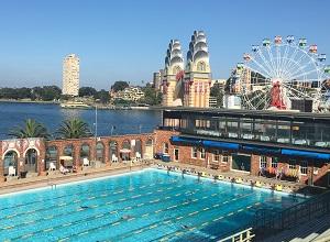 Pools on Bike Trails in Sydney