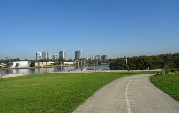 Olympic Park to the City – Ride North or South of the Parramatta River?