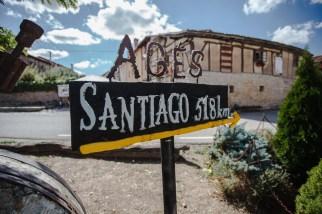 Agés, small town before reaching Burgos