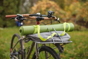 Yoga Gear on Surly Front Rack