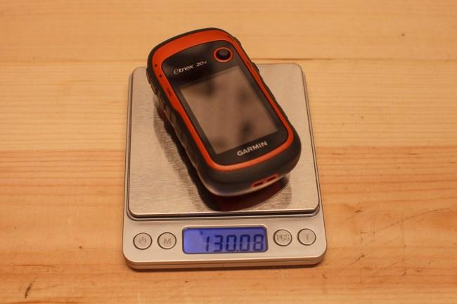 Garmin Etrex 20x Weight With Batteries