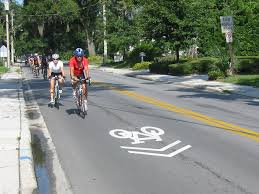 bicyclists sharrow