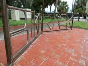 City of Orlando installs free bike racks through program