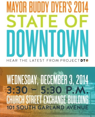 2014 State of Downtown Address On Dec. 3